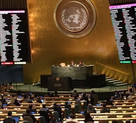 UN General Assembly approves historic nukes resolution