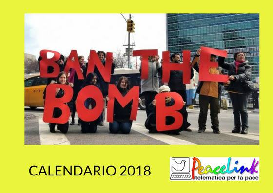 Calendario PeaceLink 2018