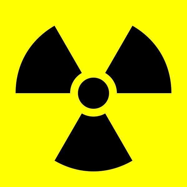 Peace >> Radiation Logo
