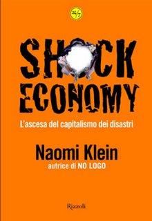 "Naomi Klein, ""Shock Economy"", copertina del libro"