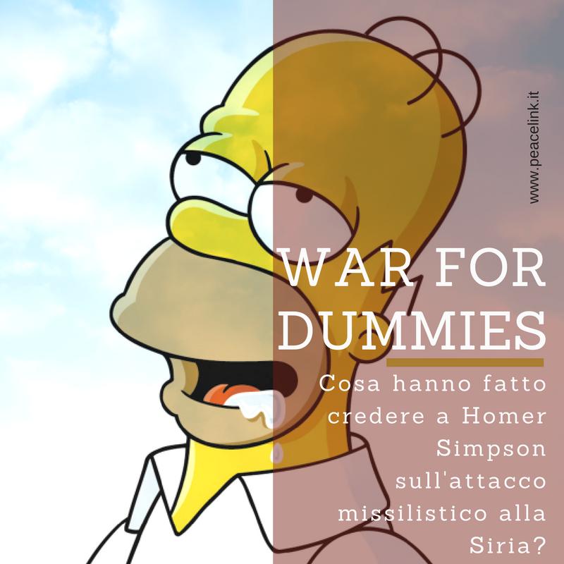 Homer Simpson va alla guerra