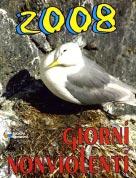 """La copertina dell'agenda """"Giorni nonviolenti 2008"""""""