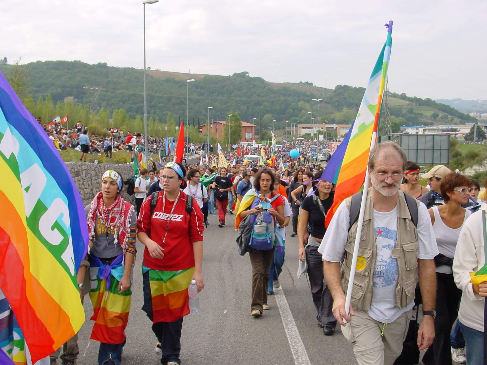 Una marcia per la pace