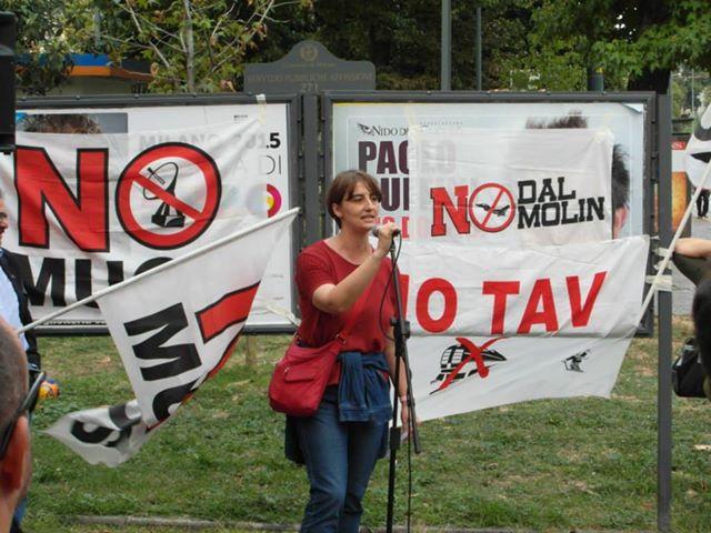 Presidio NO MUOS a Milano e a Palermo. NO MUOS OVUNQUE... Con la partecipazione di PeaceLink- Telematica per la Pace