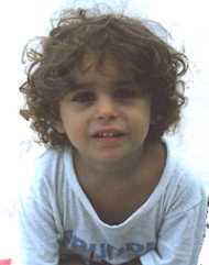 Gianmarco Coniglio a 3 anni