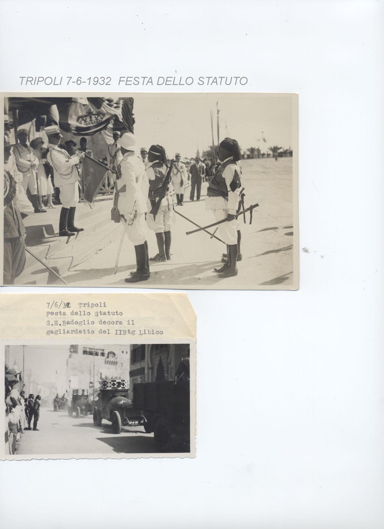 Tripoli 7-6-1932 Festa dello Statuto (2° la febbre dell'avventura)
