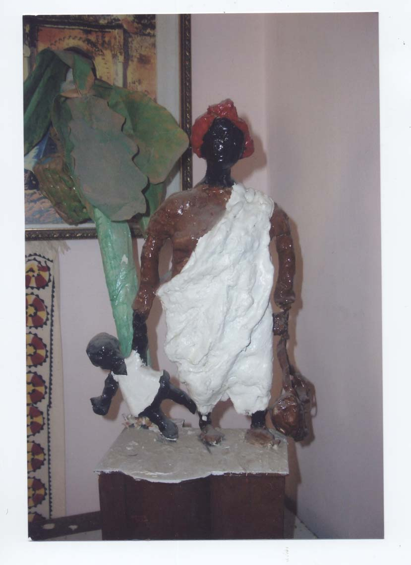 Statua allegoria realizzata da Paolo Sabbetta